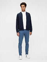 J. Lindeberg - Josef Zip Sweat Shirt - basic-sweatshirts - jl navy - 4