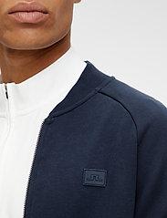 J. Lindeberg - Josef Zip Sweat Shirt - basic-sweatshirts - jl navy - 5