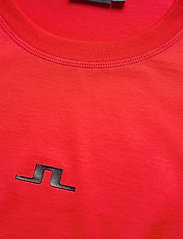 J. Lindeberg - Jordan Bridge t-shirt cotton - basic t-shirts - racing red - 2