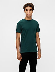 J. Lindeberg - Silo T-shirt - basic t-shirts - hunter green - 0