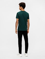 J. Lindeberg - Silo T-shirt - basic t-shirts - hunter green - 3