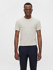J. Lindeberg - Silo T-shirt - basic t-shirts - sand grey - 0