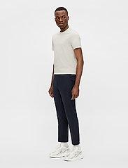J. Lindeberg - Silo T-shirt - basic t-shirts - sand grey - 4