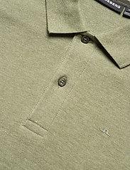 J. Lindeberg - Troy Polo Shirt Seasonal Pique - kurzärmelig - lake green melange - 6