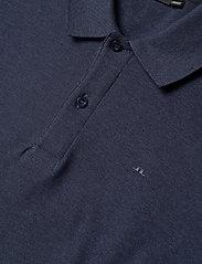 J. Lindeberg - Troy Polo Shirt Seasonal Pique - kurzärmelig - midnight blue melange - 5