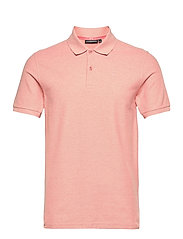 Troy Polo Shirt Seasonal Pique - ROSE MELANGE