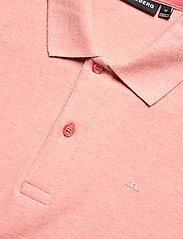J. Lindeberg - Troy Polo Shirt Seasonal Pique - kurzärmelig - rose melange - 2