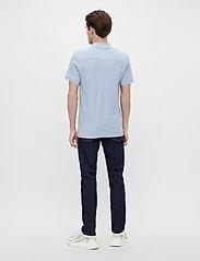 J. Lindeberg - Troy Polo Shirt Seasonal Pique - kurzärmelig - spring blue melange - 3