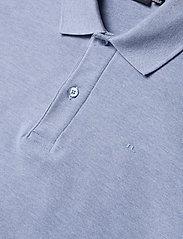 J. Lindeberg - Troy Polo Shirt Seasonal Pique - kurzärmelig - spring blue melange - 5