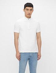 J. Lindeberg - Steel Half Zip Polo Shirt - kurzärmelig - jl navy - 0
