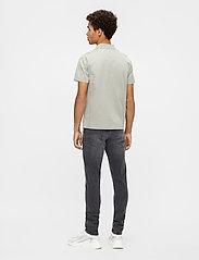 J. Lindeberg - Miles Jersey Polo Shirt - kurzärmelig - mid grey - 3
