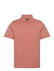 Miles Jersey Polo Shirt - ROSE COPPAR