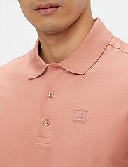 J. Lindeberg - Miles Jersey Polo Shirt - kurzärmelig - rose coppar - 5