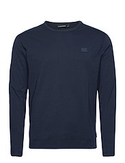 Charlie Long Sleeve T-shirt - JL NAVY