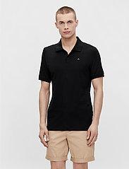J. Lindeberg - Rubi Slim Polo Shirt - kurzärmelig - black - 0