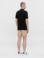 J. Lindeberg - Rubi Slim Polo Shirt - kurzärmelig - black - 3