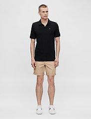 J. Lindeberg - Rubi Slim Polo Shirt - kurzärmelig - black - 4