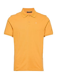 Rubi Slim Polo Shirt - GOLDEN ORANGE