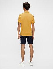 J. Lindeberg - Rubi Slim Polo Shirt - kurzärmelig - golden orange - 3
