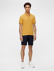 J. Lindeberg - Rubi Slim Polo Shirt - kurzärmelig - golden orange - 4