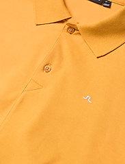J. Lindeberg - Rubi Slim Polo Shirt - kurzärmelig - golden orange - 6