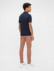 J. Lindeberg - Rubi Slim Polo Shirt - kurzärmelig - jl navy - 3