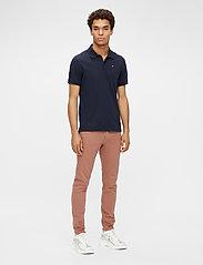 J. Lindeberg - Rubi Slim Polo Shirt - kurzärmelig - jl navy - 4