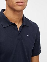 J. Lindeberg - Rubi Slim Polo Shirt - kurzärmelig - jl navy - 5