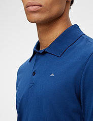 J. Lindeberg - Rubi Slim Polo Shirt - kurzärmelig - midnight blue - 5
