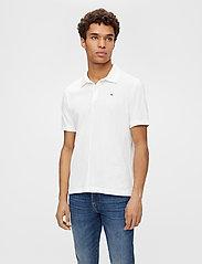 J. Lindeberg - Rubi Slim Polo Shirt - kurzärmelig - white - 0