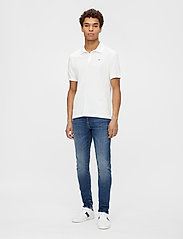 J. Lindeberg - Rubi Slim Polo Shirt - kurzärmelig - white - 4