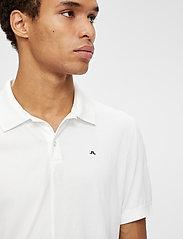 J. Lindeberg - Rubi Slim Polo Shirt - kurzärmelig - white - 5