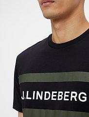 J. Lindeberg - Silo Logo T-shirt - kurzärmelig - black - 5