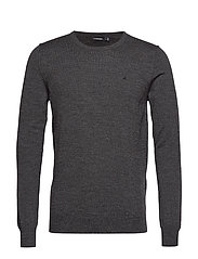 Lyle-True Merino - BLACK MELANGE