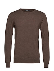 Lyle-True Merino - MID BROWN