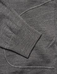 J. Lindeberg - Lorie-True Merino - basic strik - light grey melange - 3