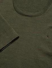 J. Lindeberg - Newman-Perfect Merino - basic strik - covert green - 2