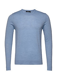 Newman-Perfect Merino - DUSK BLUE