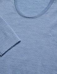 J. Lindeberg - Newman-Perfect Merino - basic strik - dusk blue - 2