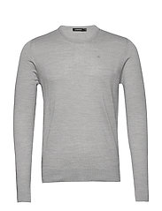 Newman-Perfect Merino - GREY MELANGE