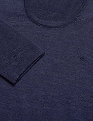 J. Lindeberg - Newman-Perfect Merino - basic strik - jl navy - 2