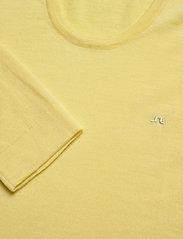 J. Lindeberg - Newman-Perfect Merino - basic strik - still yellow - 2