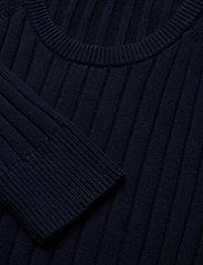 J. Lindeberg - Jace-Contrast knit - basic strik - jl navy - 2