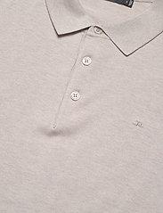 J. Lindeberg - Ridge-Cotton Silk - kortærmede - cloud grey - 2