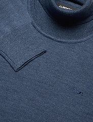 J. Lindeberg - Lyd Merino Turtleneck Sweater - basic-strickmode - egyptian blue melange - 2
