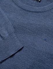J. Lindeberg - Lyle Merino Crew Neck Sweater - rundhals - egyptian blue melange - 2