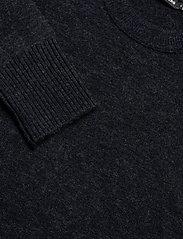J. Lindeberg - Isaac Crew Neck Sweater - basic-strickmode - navy melange - 2