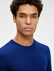 J. Lindeberg - Newman Merino Crew Neck - basic-strickmode - midnight blue - 5