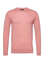 Newman Merino Crew Neck - ROSE COPPAR