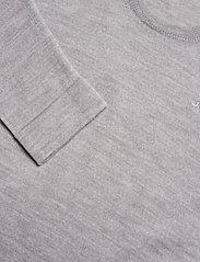 J. Lindeberg - Newman Merino Crew Neck - basic-strickmode - stone grey melange - 3